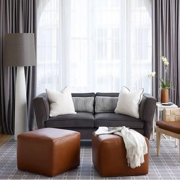 how to layer sheer blackout curtains