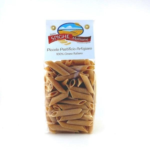 penne rigate integrali di grano saragolla