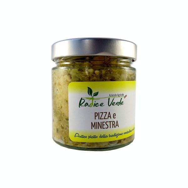 pizza e minestra in barattolo