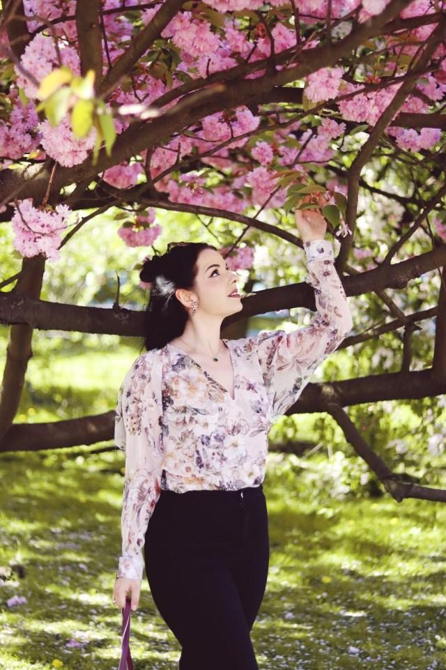 koszula w kwiaty River Island