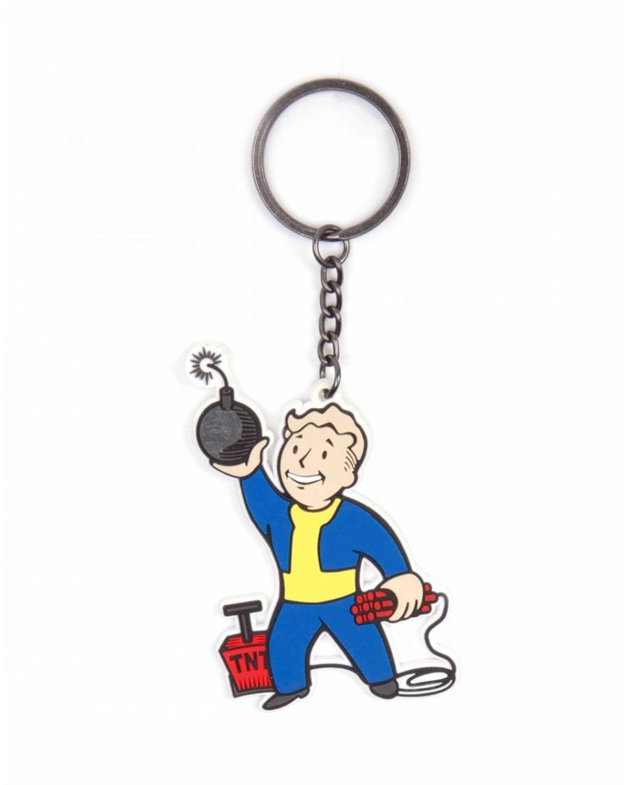 Fallout 4 Rubber : fallout, rubber, FALLOUT, VAULT, EXPLOSIVES, SKILL, RUBBER, KEYRING
