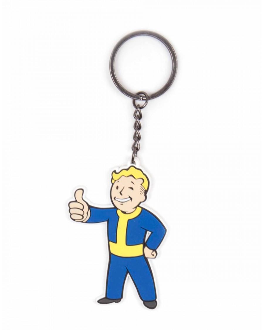Fallout 4 Rubber : fallout, rubber, FALLOUT, VAULT, APPROVES, RUBBER, KEYRING