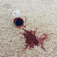 get wine stain out of carpet  Floor Matttroy