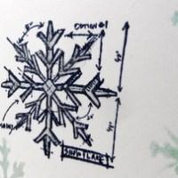 Easy Peasy Christmas Cards #25 ~ Snow!