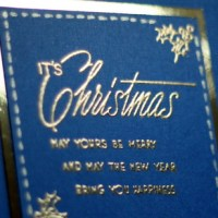 Easy Peasy Christmas Cards #39 ~ It's Christmas