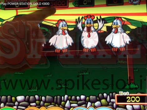 5 galline slot power fowl play spike