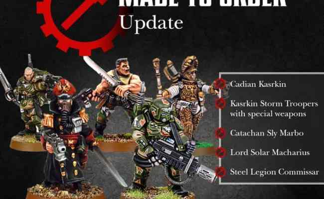 Last Call For Gw S Made To Order Kits Spikey Bits