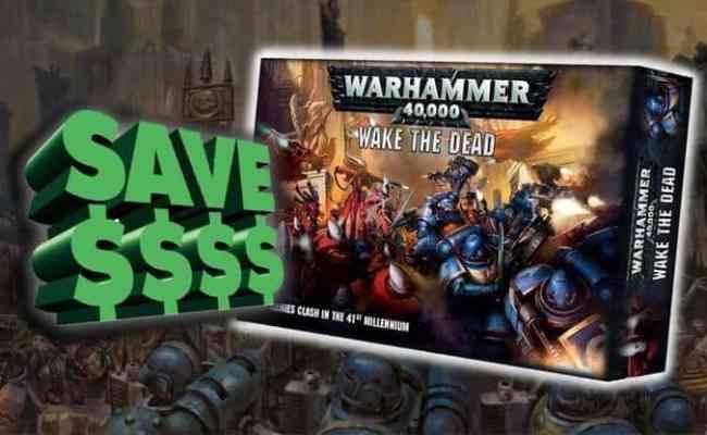 More Value Wake The Dead Starter Set Warhammer 40k