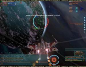 Etter den første utvidelsen kunne man faktisk fly i verdensrommet med joystick, og delta i sanntidskamp.