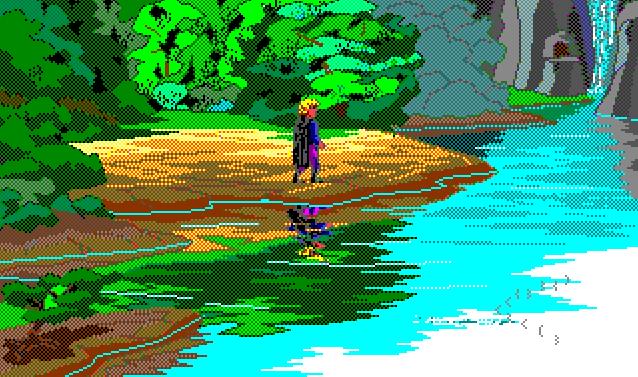 Quest for Glory, eller Hero's Quest som det egentlig het (før advokatene dukket opp),  er en blanding av rollespill og eventyrspill fra Sierra. Kanskje mitt favorittspill.