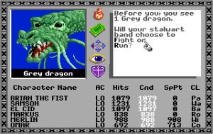 Apple IIGS-versjonen av Bard's Tale.