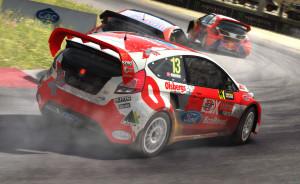 Rallycross preges av skandinaver.