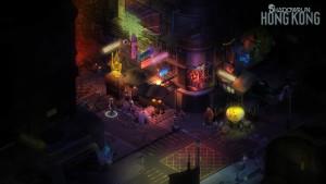Cyberpunk møter fantasy i dette spillet.