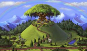 Tenk på alle insektene som bor i det treet!