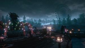 Å få utforske en fornøyelsespark om natten, når alle gjestene er gått hjem, høres jo ut som en drøm. Uheldigvis ser det ut til å være et mareritt i dette tilfellet.