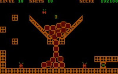 Spillet har til og med enkel fysikk.