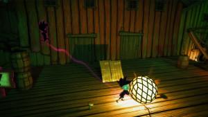 Ved å manipulere ting i 3D-verdenen kan du endre omgivelsene for skyggen din.