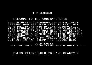 The Gorgan. Antakelig menes Gorgon.
