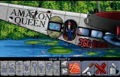 Originale Flight of the Amazon Queen.