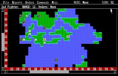 Empire på MS-DOS.