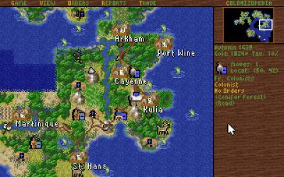Sid Meier's Colonization.