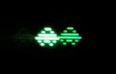 Spillets hovedperson flytter seg over skjermen.