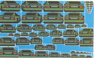 Totalt bestod en bil av 65 forskjellige små bilder.