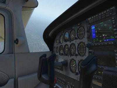 Flysimulatorsjangeren er vel en av de som har størst VR-potensial.