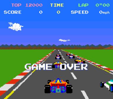 Pole Position fra Namco.