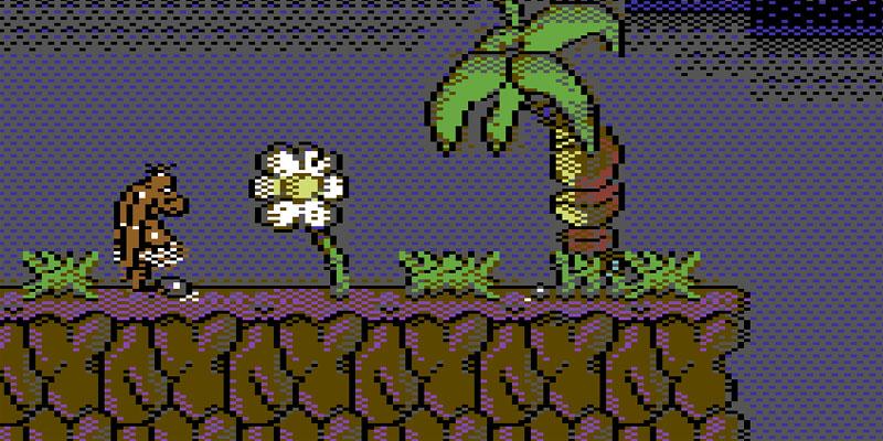 Har du prøvd Chuck Rock på Commodore 64?