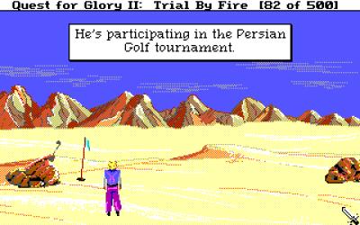 En fyr jeg treffer i ørkenen. Eller, jeg tror jeg treffer ham. Kanskje jeg bare har fått solstikk.