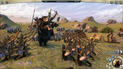 Taktisk kamp i den siste Age of Wonders III-utgivelsen.