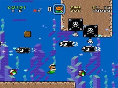 Alle elsker undervannsbrett, eller? Vel, de ser i alle fall pene ut. Bilde: Nintendo.