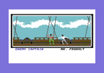 Helt tilfeldig valgt skjermbilde fra Sid Meier's Pirates!