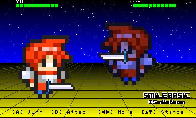 Sample Game 5 - Kakutou Game