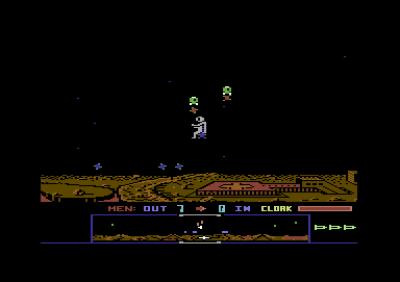 Dropzone på Commodore 64.