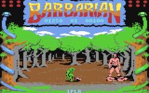 Barbarian på C64.