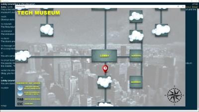 Det nærmeste vi kommer grafikk er spillets kart.