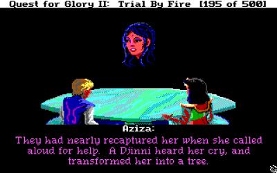 Aziza forteller om treet i ørkenen.