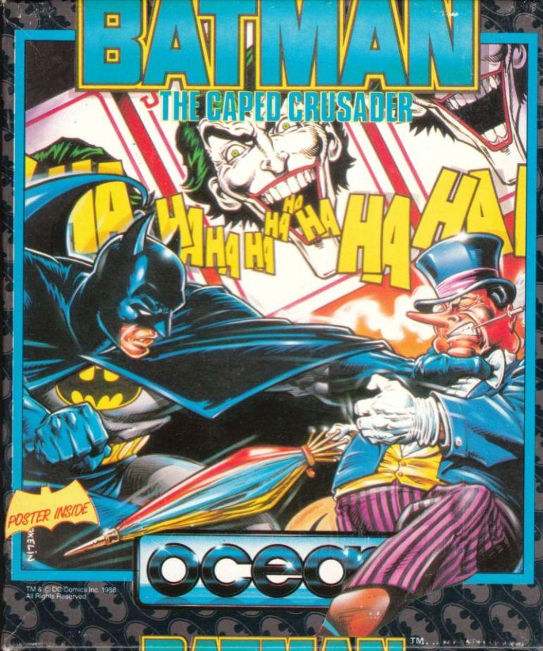 Det var opprinnelig tegneserier Wakelin var mest interessert i, og dette glimrende Batman-bildet er også et av de han var mest fornøyd med. DC-redaktør Joe Orlando elsket det også.