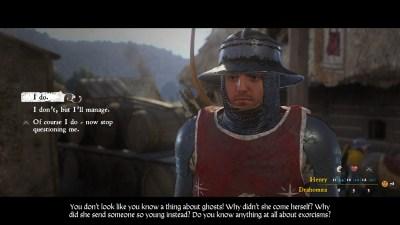Møt eksorsisten Henry (ok, han vet fint lite om eksorsismer, men det trenger jo ikke kunden å høre).