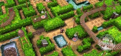 Ny versjon av Ludvigs labyrint.