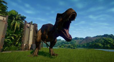 t-rex jurassic world