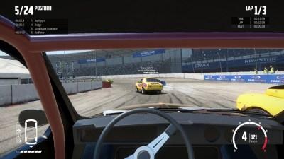 Jeg skulle likt å vise et mer spennende skjermbilde, men det nytter ikke å både konsentrere seg om å kjøre bil, og å finne og trykke F12-knappen når det skjer noe.