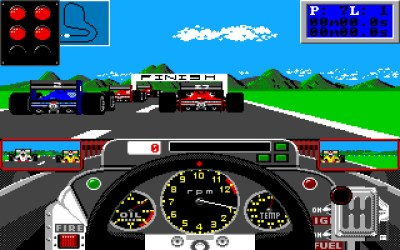 Grand Prix Circuit på Amiga. Bilde: Mobygames.