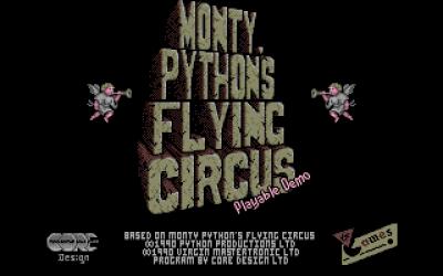På disketten: Monty Python's Flying Circus.