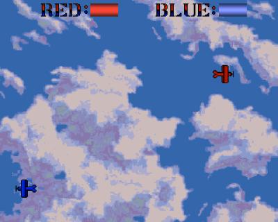 Sorry, verdens mest kjedelige skjermbilde, men jeg orket ikke å rote med to kontrollere samtidig for å få det til å se ut som jeg faktisk spiller dette spillet mot noen.