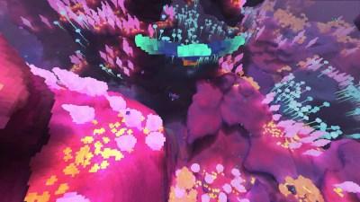 Spillet har noen ganske eksotiske miljøer.