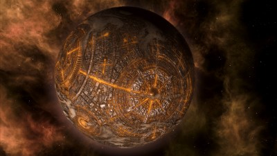 Ett eller annet rart i Stellaris: Megacorp.