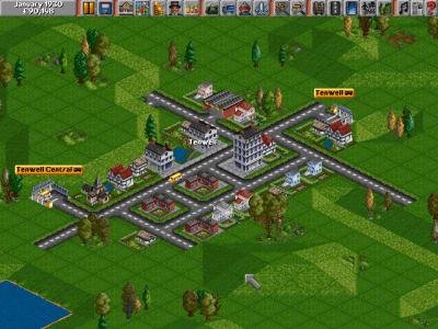 Originale Transport Tycoon. Bilde: Mobygames.